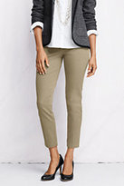 Classic Women's Petite Portico Ankle Pants-Ivory