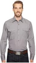 Roper 1014 Solid Poplin - Grey Men's Clothing