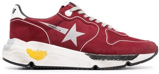 Golden Goose red Running Sole sneakers