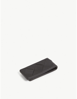 Bottega Veneta Intrecciato-weave leather money clip