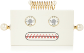 Charlotte Olympia Roby robot perspex clutch