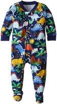 Sara's Prints Baby Boys' Footed Pajamas