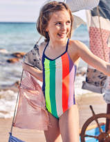 Boden Colourful Printed Swimsuit
