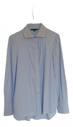 Tara Jarmon Blue Cotton Top for Women