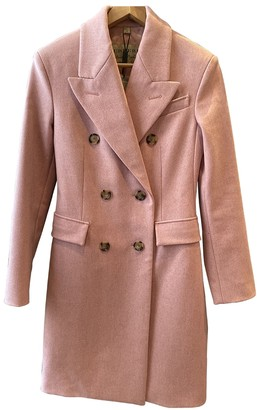 Burberry Pink Cashmere Coat for Women