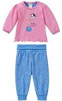 Schiesser Baby Girls 0-24m Baby Anzug 2-Teilig Pyjama Set
