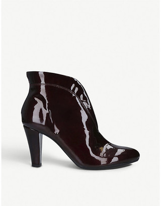 Carvela Comfort Rida patent leather ankle boots