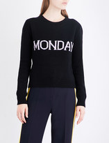 Alberta Ferretti Weekday wool and cashmere-blend jumper