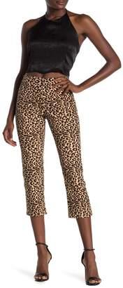 Cotton On Sammi Leopard Print Capri Pants