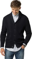 Tommy Hilfiger Textured Shawl Collar Cardigan