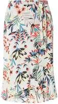 Dorothy Perkins Tropical Ruffle Wrap Skirt