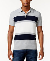 Michael Kors Men's Striped Colorblocked Polo