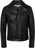 McQ Black Leather Jacket