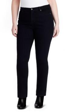 Gloria Vanderbilt Trendy Plus Size Amanda Tapered Jeans Short Inseam
