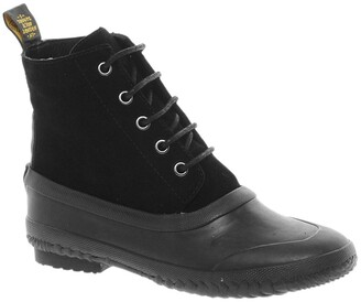 F-Troupe Lace-up Flat Ankle Boot