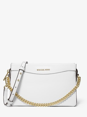 MICHAEL Michael Kors Jet Set Large Leather Chain Crossbody Bag