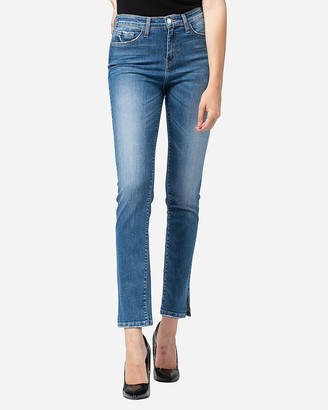 Express Flying Monkey High Waisted Slim Straight Ankle Jeans