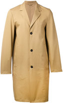 Stutterheim - single breasted coat - men - Cotton/Polyurethane - S