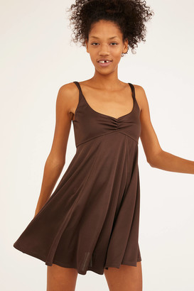 Out From Under UO Pina Empire Waist Mini Dress