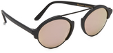 Illesteva Milan III Mirrored Sunglasses