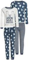 Carter's BOY ABOMINABLE SNORE MAN 2 PACK Pyjama set blue/white