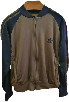 adidas Brown Synthetic Jackets