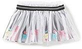 Baby Starters Baby Girls 3-12 Months Kitty Striped Tutu Skirt