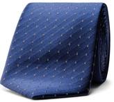 Calvin Klein Spaced Micro Spot Sheen Tie