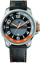 Tommy Hilfiger Men's 1790716 Rubber Quartz Watch