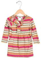Sonia Rykiel Girls' Striped Long Sleeve Dress