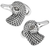 Jan Leslie Antiqued Duck Head Cufflinks