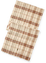 Polo Ralph Lauren Tartan Linen Scarf