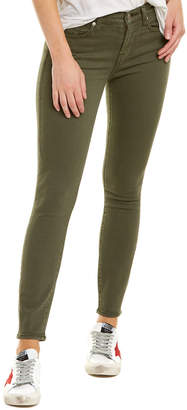 7 For All Mankind Seven 7 Gwenevere Dark Army Green Ankle Cut
