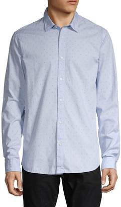 Scotch & Soda Regular-Fit Printed Long-Sleeve Shirt