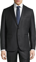 Mason Two-Piece Dotted Suit, Gray