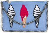 Stella McCartney ice-cream embroidered Surf Falabella bag - women - Polyester - One Size