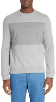 A.P.C. Men's Sweat Shine Applique Cotton Sweater