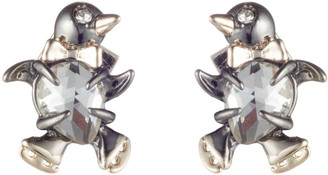 Alexis Bittar Baby Penguin Stud Earring