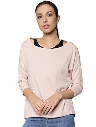Only Women's Onlalberta S/s Double JRS Long Sleeve,14 (Size: Large)