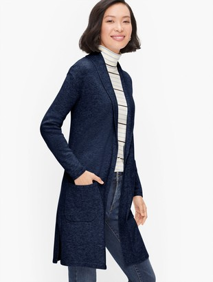 Talbots Supersoft Shawl Collar Duster