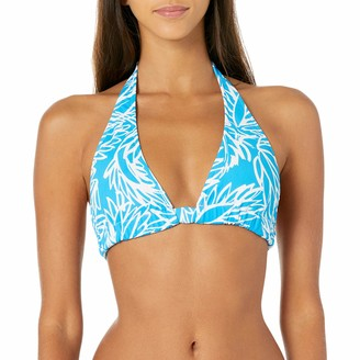Milly Women's Lotus Print Nikia Bikini Top