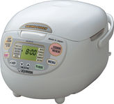 Zojirushi Neuro Fuzzy 5-Cup Rice Cooker and Warmer