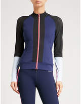 Monreal London Featherweight sports-mesh and jersey jacket