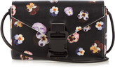 Christopher Kane Devine Ditsy Pansy large leather cross-body bag