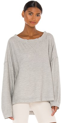 Free People X FP Movement Rugby Match Long Sleeve Tee
