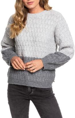 Roxy Polaroid Girl Colorblock Sweater