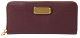 Marc by Marc Jacobs New Q Slim Leather Zip Around Wallet