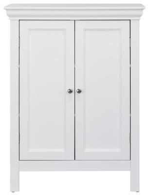 Elegant Home Fashions Teton 2-Door Bathroom Storage Floor Cabinet