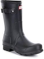 Hunter Men's Short Waterproof Rain Boots