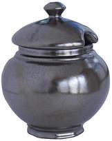 Juliska Lidded Pewter Sugar Bowl